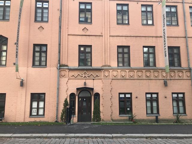 Kuva Wetterhoffin talosta, Anne Miettisen hierontapalvelujen sijainti.